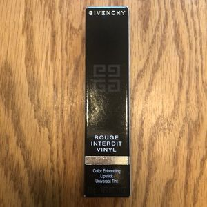 Givenchy Black Lipstick. NEW 0.11 oz